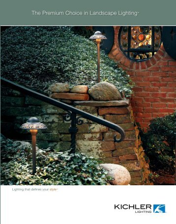 The Premium Choice in Landscape Lighting™ - Unique Outdoor