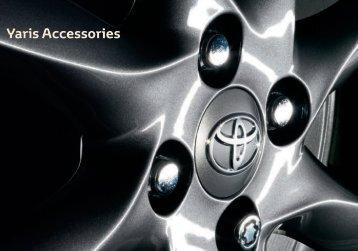 Yaris Accessories - Mustakivi Auto