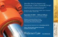 Marcellus Shale Development and Pennsylvania: A Path to ...