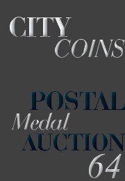 Download Postal Medal Auction #64 PDF - City Coins