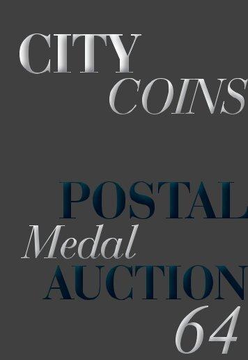 Download Postal Medal Auction #64 PDF - City Coins