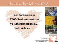 können Sie die Info-Präsentation des Fördervereins - AWO ...