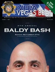 Representing Las Vegas Metro Police Department Officers and ...