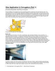 Glue Application in Corrugators - Apex-groupofcompanies.com