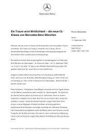 Ein Traum wird  Wirklichkeit – die neue CL - Mercedes-Benz ...