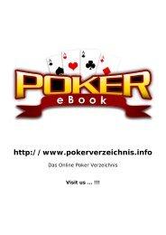 kannst Du das Poker-eBook downloaden bzw - Kostenloses Poker ...