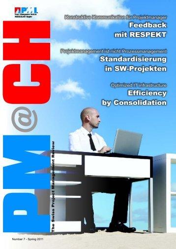 Feedback mit RESPEKT Standardisierung in SW-Projekten ...