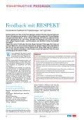 Feedback mit RESPEKT Standardisierung in SW-Projekten ... - Page 6