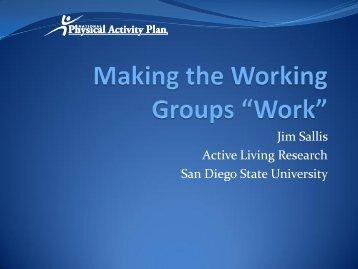 Jim Sallis Active Living Research San Diego State University