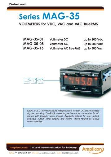 Series MAG-35 - Amplicon
