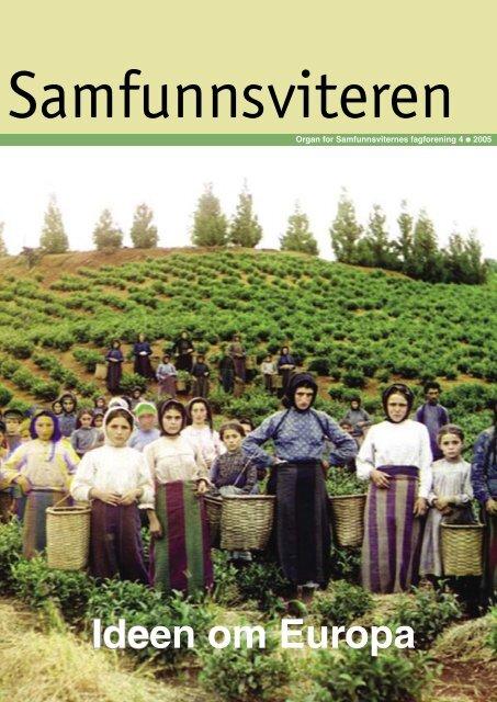 Samfunnsviteren 4/2005 - Samfunnsviterne