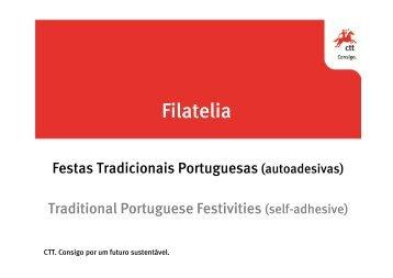 Festas Tradicionais Portuguesas Autoadesivos (2º grupo) - CTT