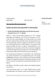 Umbau bei Henne-Unimog GmbH in Heimstetten - Mercedes-Benz ...
