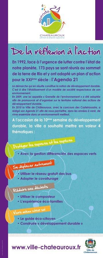 développement durable - Châteauroux