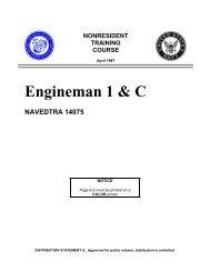 Engineman 1 & C - Historic Naval Ships Association