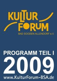 Flyer 2009 Teil 1.cdr - beim KulturForum
