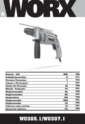 13l-WU305.1 WU307.1-M-070917.indd - Worx Power Tools