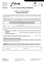 MODULO 1 - Riva del Garda Fierecongressi