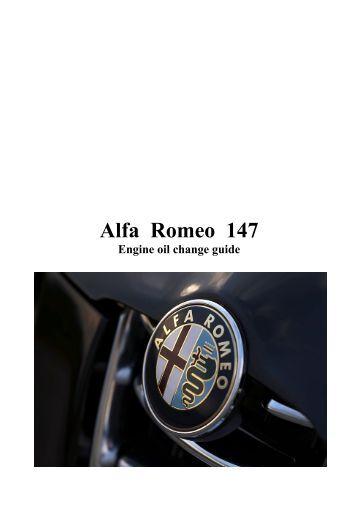 alfa romeo 147 gearbox oil change guide. Black Bedroom Furniture Sets. Home Design Ideas