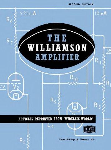The Williamson Amplifier - ClariSonus