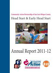 Annual Report 2011-12 - Community Action Partnership of San Luis ...