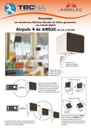 Aerotermos eléctricos AIRPULS - Tecna