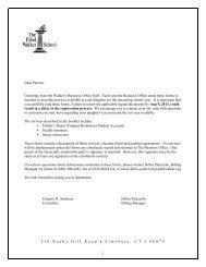 2013-2014 Business Office Forms - The Ethel Walker School