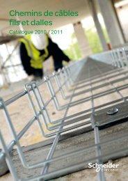 Chemins de câbles fils et dalles - e-Catalogue - Schneider Electric
