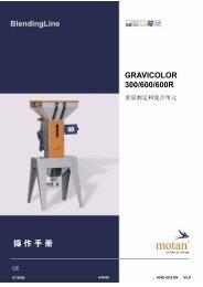 GRAVICOLOR 300/600/600R