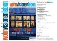 Sonderausgabe wohnvisionenleben - huss Verlag