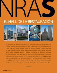 el hall de la restauración - Catering.com.co
