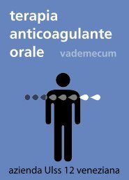 terapia anticoagulante orale - Azienda Ulss 12 veneziana