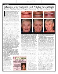 Custom-Fitted and Custom-Designed Dentures at Port Warwick ...