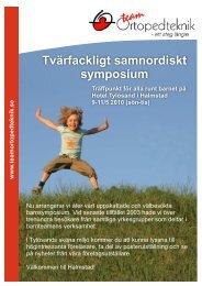 Tvärfackligt samnordiskt symposium Träffpunkt för alla runt ... - BLF