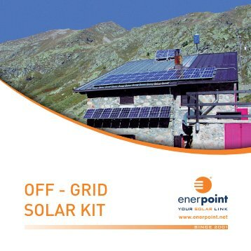 OFF - GRID SOLAR KIT - Enerpoint