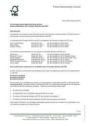 Convocatoria para Nominaciones de tres Nuevos Miembros del ...