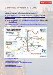 Zpravodaj povodně 4. 6. 2013 - Pražská informační služba