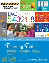 New Products - Learning Zone Express