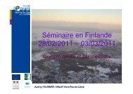 Séminaire en Finlande CR et perspectives - DRAAF Nord-Pas-de ...