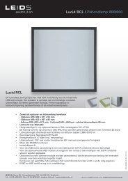 Lucid RCL | Plafondlamp 600/600 Lucid RCL - LEIDS