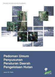 Pedoman umum penyusunan peraturan daerah pengelolaan hutan ...