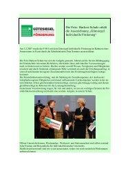 """Die Fritz- Harkort-Schule erhält die Auszeichnung """"Gütesiegel ..."""