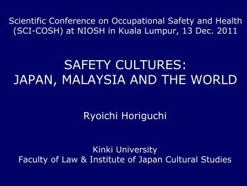 culture essay safety This report illustrates the concepts and principles of safety culture as given in safety series no 75-insag-4, safety culture - a report by the international nuclear safety advisory group.
