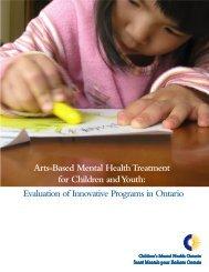 Evaluation of Innovative Programs in Ontario - Children's Mental ...