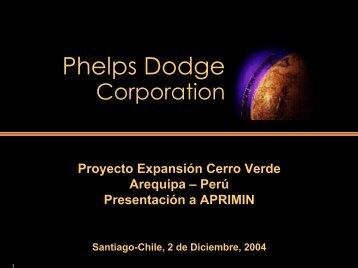 Proyectoe Expansión Cerro Verde - Asimet