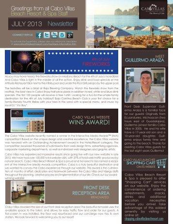 WINS AWARD! - Cabo Villas Beach Resort
