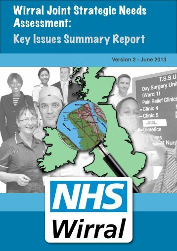 JSNA Key Issues Summary - Info Wirral