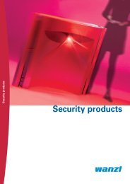 Wanzl security products - Expedit