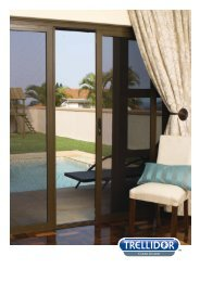 Trellidor Clear Guard security systems are custom made to fit