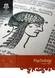 Psychology - School of Psychology - The University of Sydney
